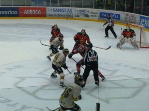 face off AIK v Almtuna